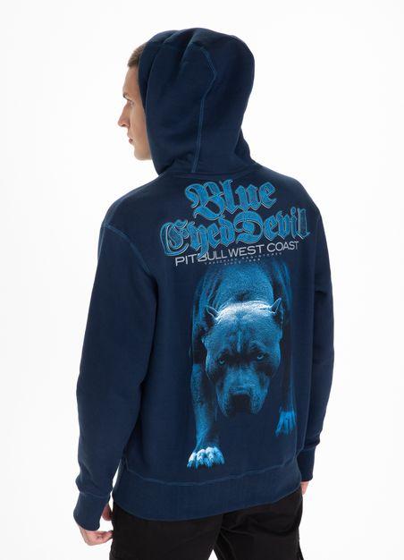 Bluza z kapturem Blue Eyed Devil 21