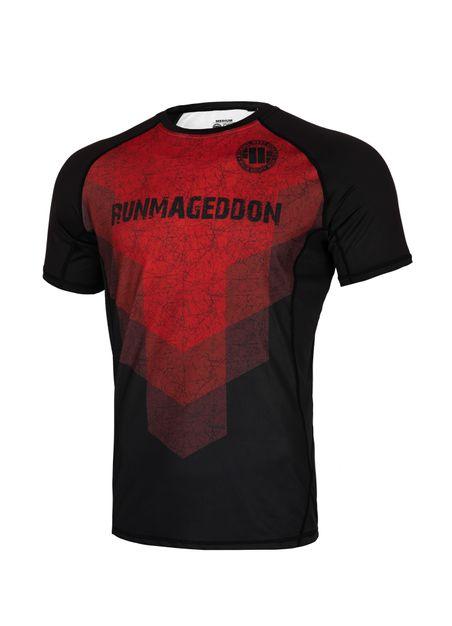 Koszulka Sport Mesh Red Stripes RMG